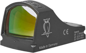 Прицел коллиматорный Docter Noblex Sight C Flat Grafit Black. Точка - 7 MOA