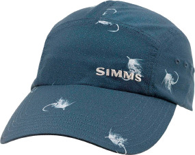 Кепка Simms Flats Cap - Long Bill One size ц:dark moon