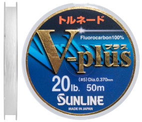 Флюорокарбон Sunline V-Plus 50m #5.0/0.37mm 10.0kg