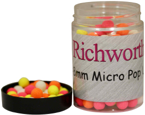 Бойлы Richworth Micro Pop-Ups Plum Royal 6-8mm 100ml