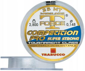 Леска Trabucco T-Force Competition Pro Strong 25m