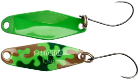 Блесна Shimano Cardiff Wobble Swimmer 1.5g #25T Green Brown Camo