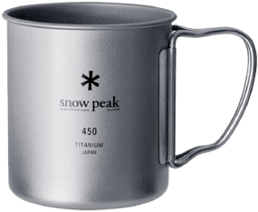 Кружка Snow Peak MG-053R Ti-Double 450 Mug 450ml