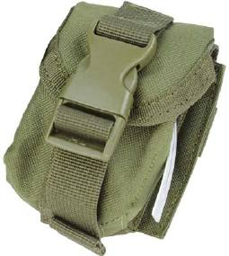 Подсумок Condor Single Frag Grenade Pouch для ручной гранаты  Цвет - Олива