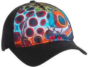 Кепка Simms Flexfit Trucker ц:brown trout black