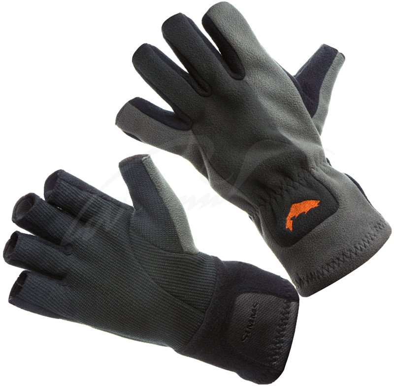 Перчатки Simms Windstopper Half-Finger Glove