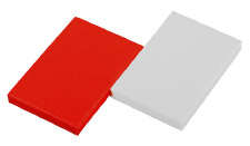 Пена Prologic Foam Red & White (2шт/уп)