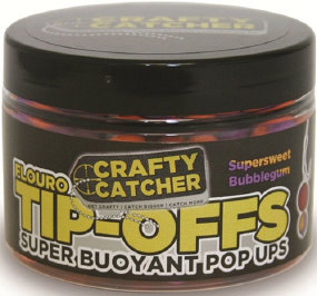 Бойлы Crafty Catcher Tip-Off Pop-Up Bubblegum 60g