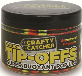 Бойлы Crafty Catcher Tip-Off Pop-Up Pineapple Buzz 60g