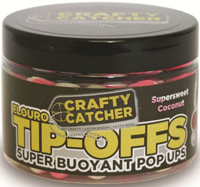 Бойлы Crafty Catcher Tip-Off Pop-Up Supersweet Coconut 60g