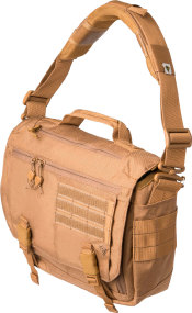 Cумка First Tactical Summit Side Satchel. Цвет - coyote