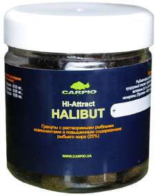Пеллетс Carpio Hi-Attract Halibut 14мм 170г