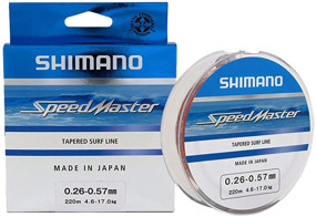 Шоклидер Shimano Speedmaster Tapered Surf Line 220m 0.23-0.57mm 3.6-17.0kg