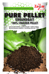 Прикормка CarpZoom Pure Pellet Groundbait Black Halibut 800г