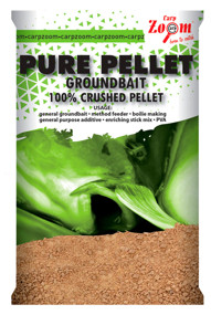 Прикормка CarpZoom Pure Pellet Groundbait Brown Halibut 800г