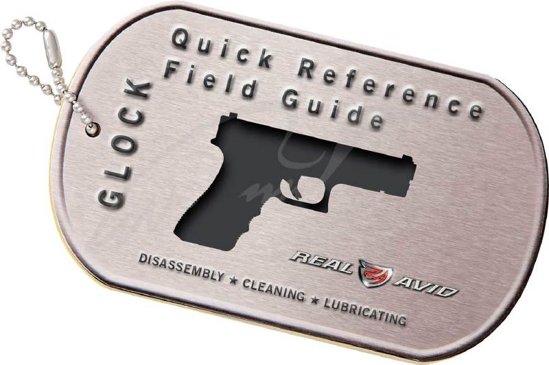 Брелок Real Avid Glock Field Guide