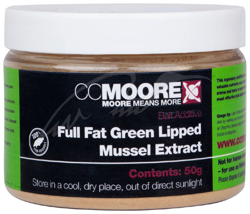 Добавка CC Moore Full Fat Green Lipped Mussel Extract 50g