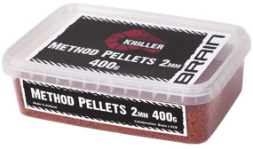 Пелети Brain Kriller (кальмар/спеції) Method Pellets 2mm 400g