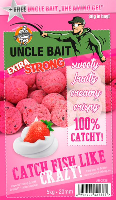 Бойлы Imperial Baits Carptrack Uncle Bait Extra Strong 20мм 1кг