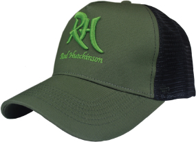 Кепка Rod Hutchinson Green Cap with Black Mesh Back