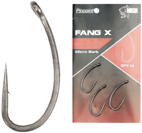 Гачок Nash Fang X №1 Micro Barbed (10шт/уп)
