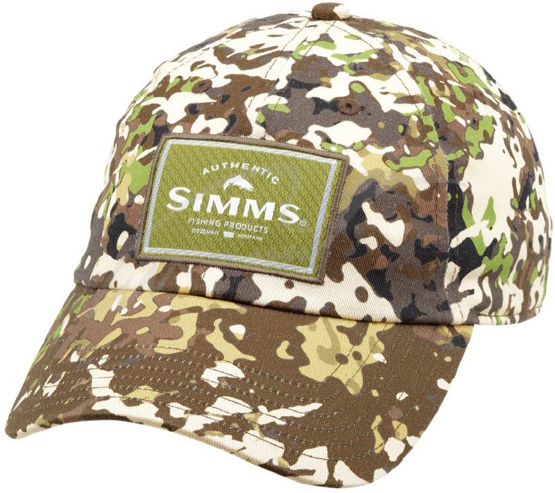 Кепка Simms Single Haul Cap One size ц:river camo