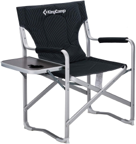 Кресло KingCamp Deluxe Director chair (KC3821) BLACK STRIPE