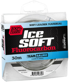 Флюорокарбон Salmo Team Salmo Ice Soft Fluorocarbon 30m 0.33mm 8.08kg