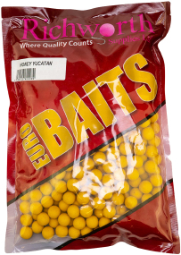 Бойлы Richworth Euro Boilies Honey Yucatan 25mm 1kg
