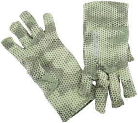 Перчатки Simms Ultra-Wool Core 3-Finger Liner ц:hex camo loden