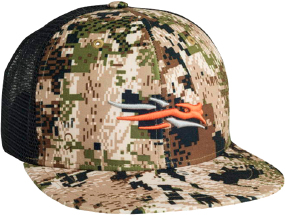 Кепка Sitka Gear Trucker One size. Цвет - optifade subalpine