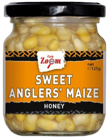 Кукуруза CarpZoom Sweet Angler's Maize Honey 220ml 125g