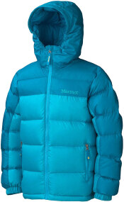 Куртка Marmot Girl's Guides Down Hoody M ц:sea glass/sea green