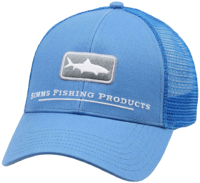 Кепка Simms Trucker Hat Icon Bonefish One size ц:pacific