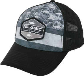 Кепка Pelagic Offshore Print Fishing Hat - Duo ц:americamo grey