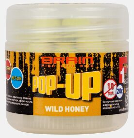 Бойлы Brain Pop-Up F1 Wild Honey (мёд) 8mm 20g