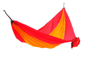 Гамак KingCamp Parachute Hammock Red/Yellow