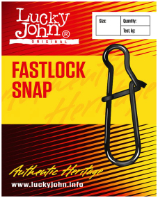 Застежка Lucky John Pro Series Fastlock Snap №1 18кг (10шт/уп)