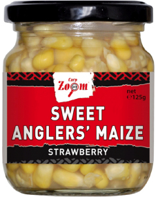 Кукуруза CarpZoom Sweet Angler's Maize Strawberry 220ml 125g