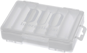 Коробка DUO Reversible Lure Case DD86 White/Silver Logo