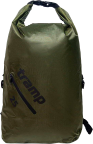 Герморюкзак Tramp TRA-256 PVC Diamond 25L ц:olive