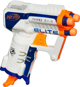 Бластер Nerf N-Strike Elite Triad EX-3
