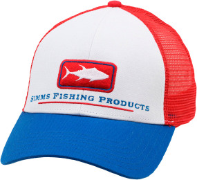 Кепка Simms Tuna Icon Trucker One size ц:white