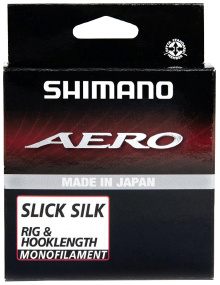 Леска Shimano Aero Slick Silk Rig/Hooklength 100m 0.152mm 2.23kg
