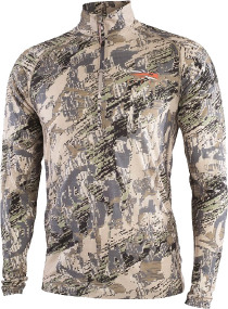 Термосвитер Sitka Gear Merino Core LtWt Half-Zip. Размер - Цвет - optifade open country