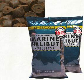 Пеллетс Dynamite Baits Halibut Pre-Drilled Hook Pellets 8mm 900g