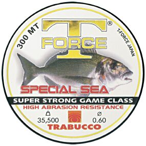 Леска Trabucco T-Force Special Sea 300m 0.70mm 38.20kg