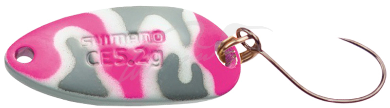 Блесна Shimano Cardiff Roll Swimmer Camo Edition 3.5g #22T Military Pink