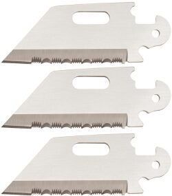 Клинок ножа Cold Steel Click-N-Cut Utility Serrated