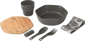 Набор посуды Robens Leaf Meal Kit ц:anthracite